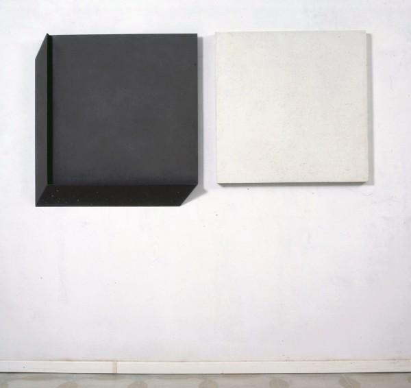 Uncini, Ombra di due quadrati, 1976