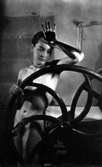 Man Ray, Erotique voilée, 1933