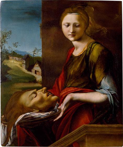 Alonso Berruguete, Salome, c. 1514–1517