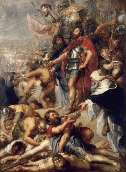 Rubens, Trionfo di Giuda Maccabeo, 1634-1636
