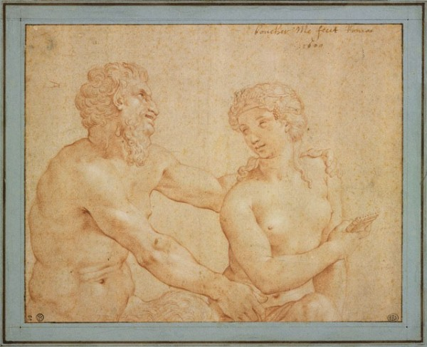 Jean Boucher, Satyre et Bacchante, 1600