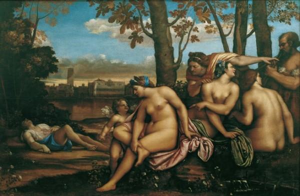 Sebastiano del Piombo, Morte di Adone, 1512