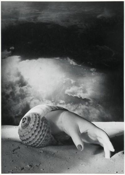 Dora Maar, Untitled (Hand-Shell), 1934