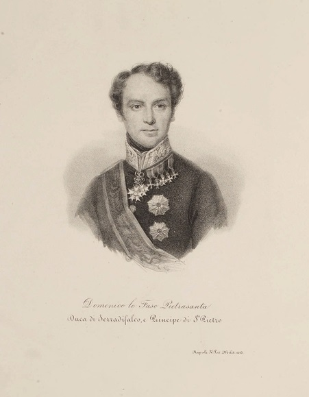 Domenico Lo Faso Pietrasanta Duca di Serradifalco, e Principe di S. Pietro