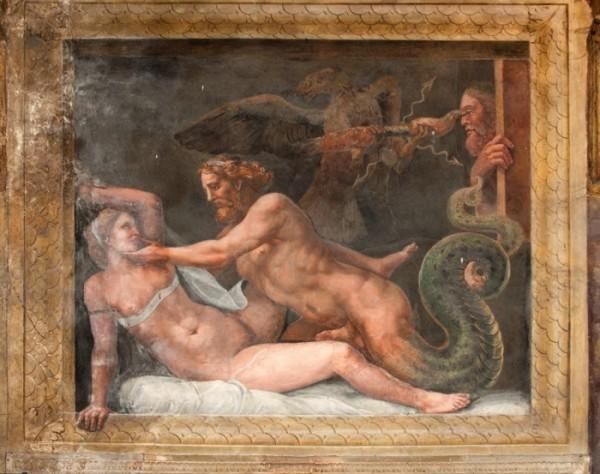 Giulio Romano, Giove e Olimpiade