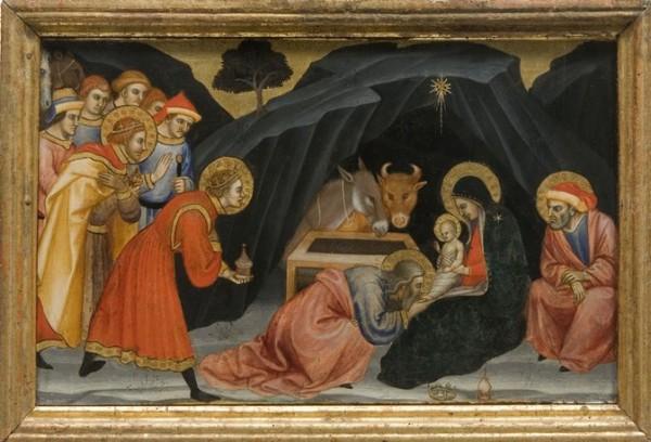 Taddeo di Bartolo, Adorazione dei Magi, Siena, Pinacoteca Nazionale