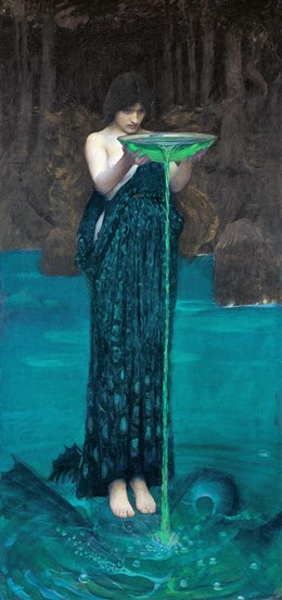 Waterhouse, Circe invidiosa, 1892