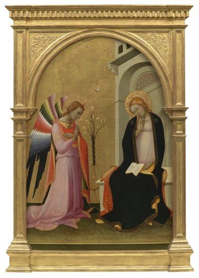 Lorenzo Monaco, , Annunciazione, c. 1420-1424