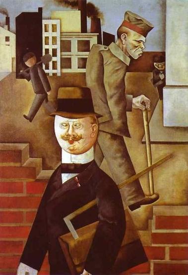 Grosz, Giorno grigio,1921