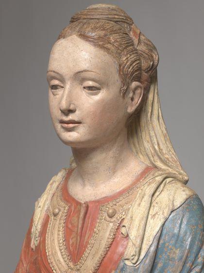 Giovanni de Fondulis, Madonna con il Bambino (part.), Padova, Chiesa di San Nicolò