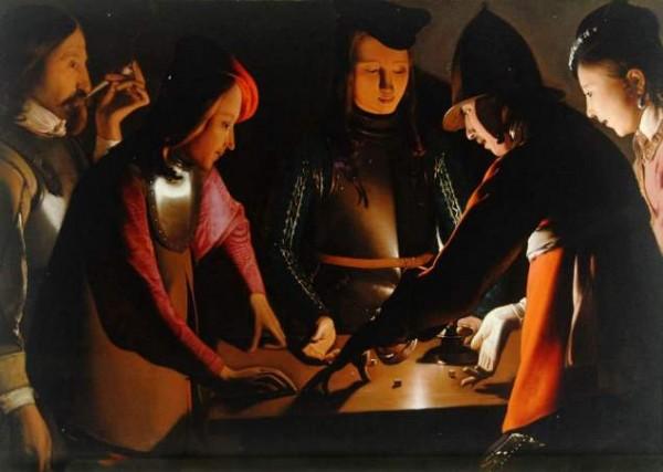 La Tour, I giocatori di dadi, 1650 – 1651