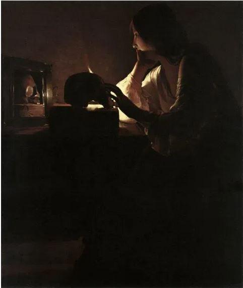 La Tour, Maddalena penitente, 1635-1640