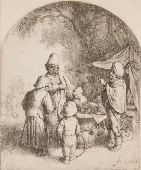 Adriaen van Ostade, Der Charlatan, 1648