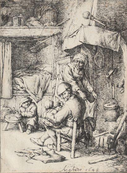 Adriaen van Ostade, Der Familienvater, 1648