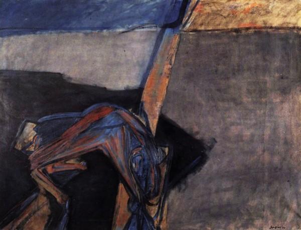 Attilio Forgioli, Cane sull'autostrada, 1962-1963