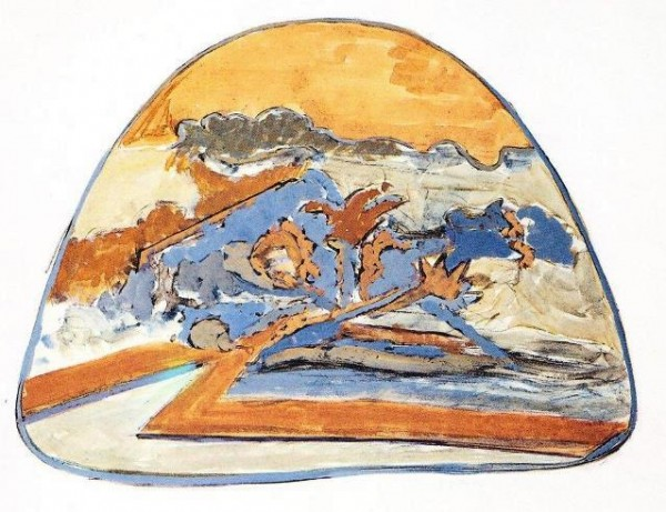 Attilio Forgioli, Isola, 1972