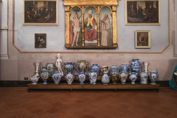 Andrea Salvatori, Davidiera, 2015, ceramica. Ph. Omar Tonella-Federica Delprino. Courtesy l'artista
