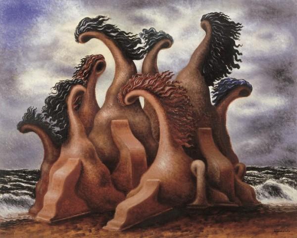 Savinio, La battaglia dei Centauri, 1930